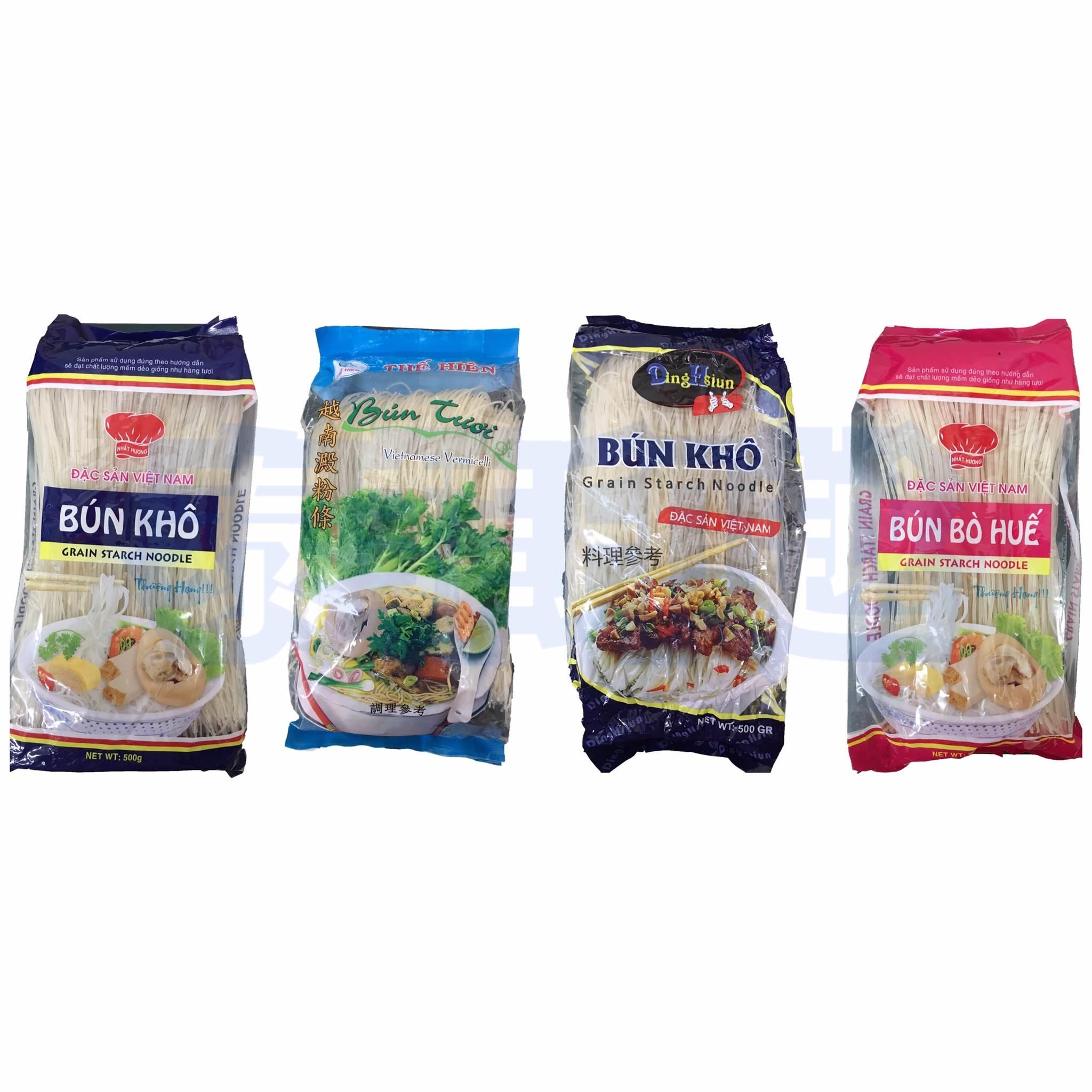 {泰菲印越} 越南 bk bt bbh 澱粉條 米線 500克