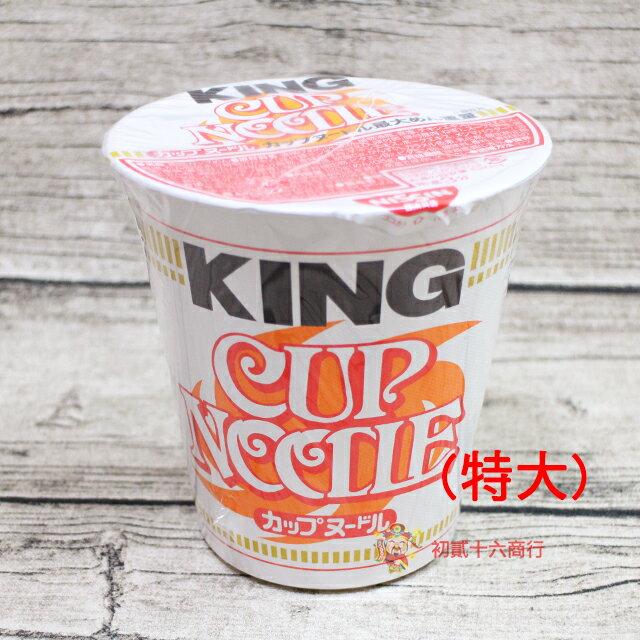 【0216零食會社】日本泡麵 日清_KING醬油杯麵120g
