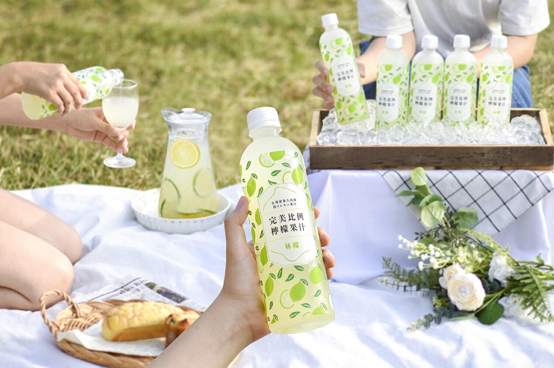 招牌檸檬汁 完美比例+輕甜檸香 500ml 各3入