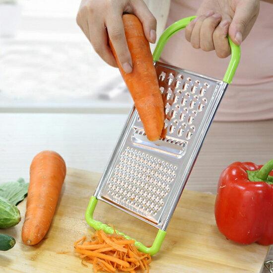 ♚MY COLOR♚廚房多功能刨絲器(小) 切絲 刨絲 刀片 涼拌 料理 烹飪 粗細 食物 造型【J53-2】