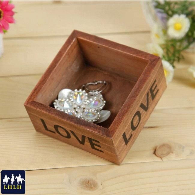 收納盒 婚禮小物 木盒 【現貨】