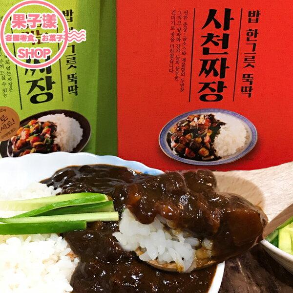 韓國 PEACOCK 炸醬 調理包 微波/隔水加熱即食 (單盒) [KR403]