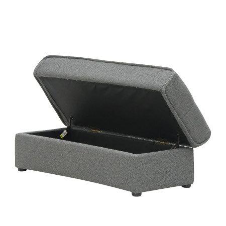◎(OUTLET)布質多機能沙發床 BOXY DGY 福利品 NITORI宜得利家居 5