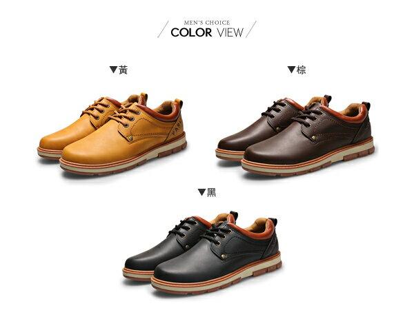 ☆BOY-2☆【JP99042】低統鞋 美式皮革質感低筒休閒鞋 1