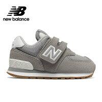 New Balance 美國慢跑鞋/跑步鞋推薦【New Balance】童鞋_中性_淺灰_IV574SPU-W楦