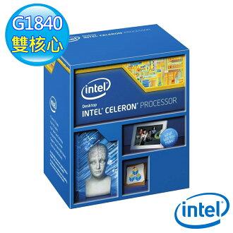 INTEL 英特爾 Celeron G1840 盒裝 CPU 中央處理器(5032037062534) 【全站點數 9 倍送‧消費滿$999 再抽百萬點】