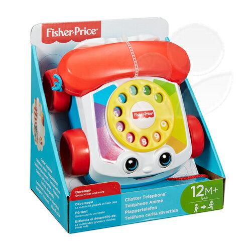 悅兒園婦幼生活館:Fisher-Price費雪經典可愛電話【悅兒園婦幼生活館】