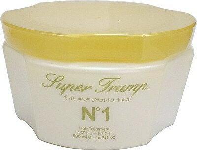 露比私藏:日本原裝SuperJrumpN°1琥珀滋養髮膜500ml(受損髮質修護專用)