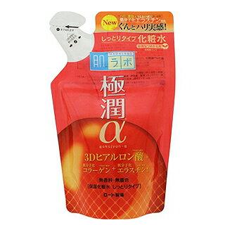 【ROHTO】肌研新極潤α緊緻彈力保濕化妝水補充包