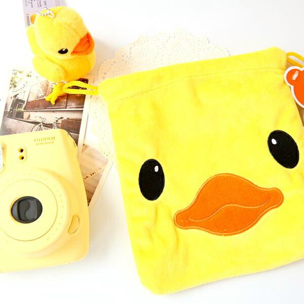 黃色小鴨束口袋 黃鴨 小鴨 Duck 收納袋 相機袋 MINI 7S 25 8 50S 90 MINI8 MINI90【B088054】