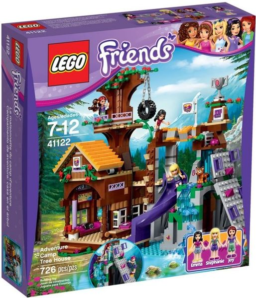 【LEGO 樂高積木】Friends 好朋友系列 - 冒險營樹屋 LT-41122