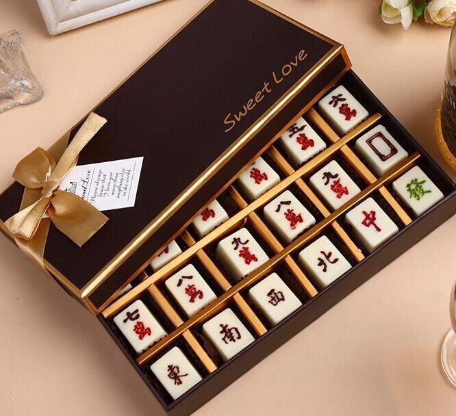 =優 =蛋糕裝飾麻將巧克力模型 麻將蛋糕 PC巧克力模具 東西風字
