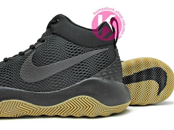 2016 中價位籃球鞋款 NIKE ZOOM REV EP 全黑 膠底 HYPERFUSE 鞋面科技 + ZOOM AIR 氣墊 XDR 耐磨橡膠外底 輕量化 籃球鞋 (852423-010) 0117 3