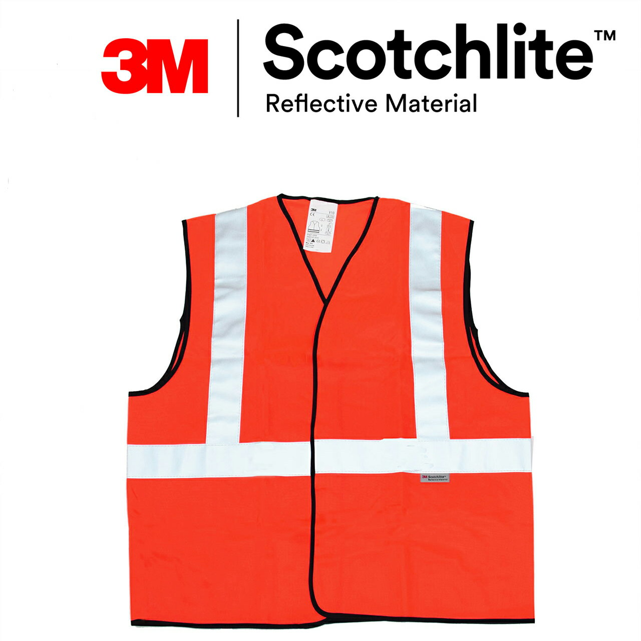 24小時全天防護高可見度實布反光背心 安全背心 3M Scotchlite★Safetylite★滿899免運★