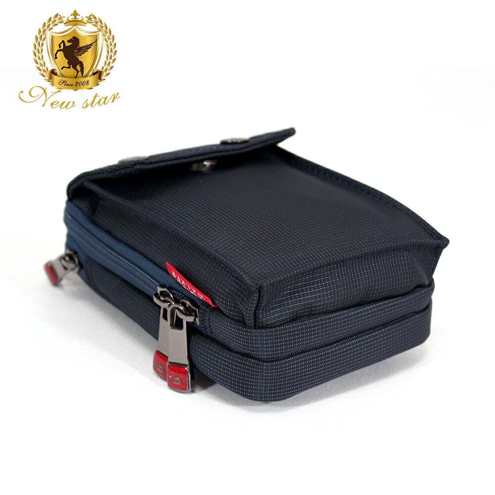 腰包 輕便素面迷彩雙層掛包側背包手機包包 NEW STAR BW33 4