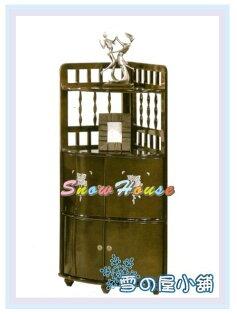 ╭☆雪之屋居家生活館☆╯AA564-10AR-892璽至角落收納櫃(低)置物櫃床頭櫃電話櫃收納櫃展示櫃斗櫃