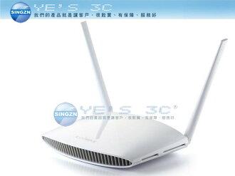 「YEs 3C」全新 EDIMAX 訊舟 BR-6428NS V3 N300多模式無線分享器