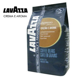 即期商品-到期日2016/12/30→義大利 LAVAZZA CREMA E AROMA咖啡豆(1000g)