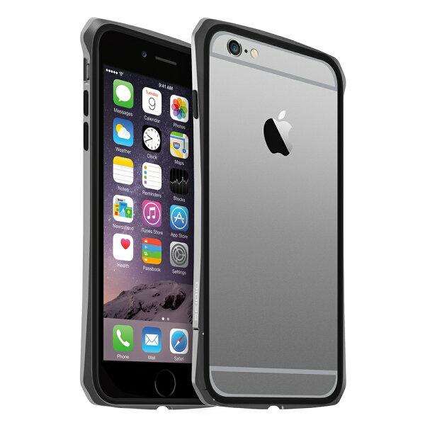 SEIDIO:SEIDIOTETRA™極簡金屬吸震保護框forAppleiPhone6Plus5.5-灰