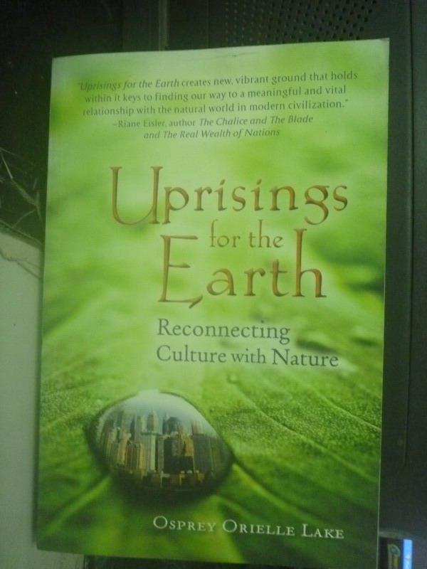 【書寶 書T2/科學_ZDR】Uprisings for the Earth_Osprey