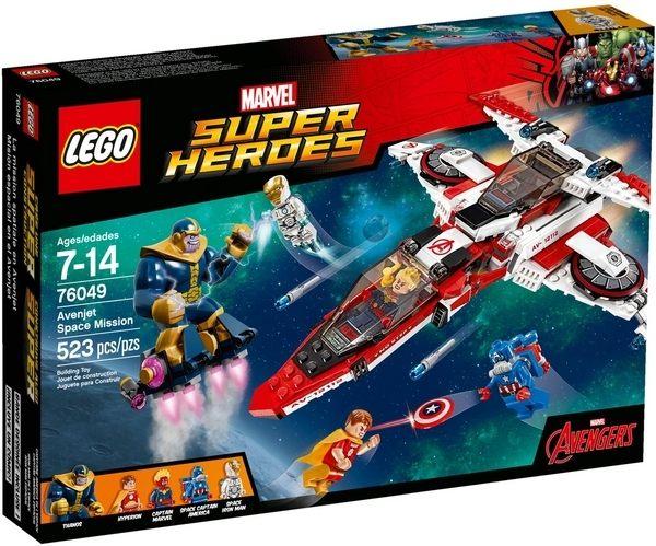 【LEGO 樂高積木】超級英雄系列 - Avenjet Space Mission LT-76049