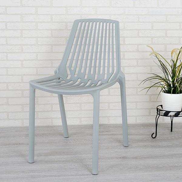 優世代居家生活館:餐椅椅子休閒椅洽談椅《Yostyle》摩登時尚造型椅(摩登灰)