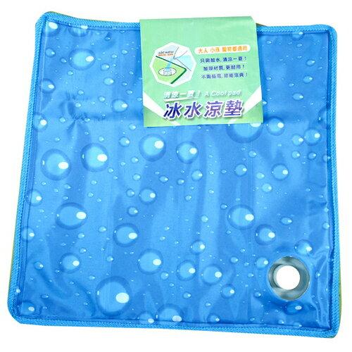 清涼一夏 冰水涼墊-水坐墊(小) 36x36cm 隨機