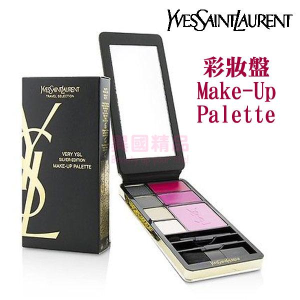 聖羅蘭 YSL 彩妝盤 Make-Up Palette - Silver Edition (眼影*4+唇膏*2+腮紅*1)【特價】§異國精品§
