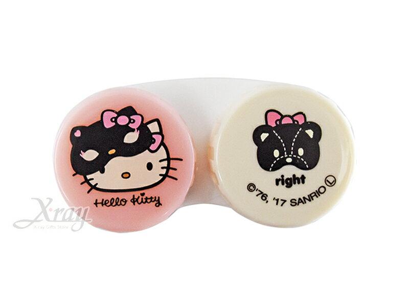 Hello Kitty 小物收納盒-粉白,收納盒/首飾盒/萬用盒/分裝盒,X射線【C572316】