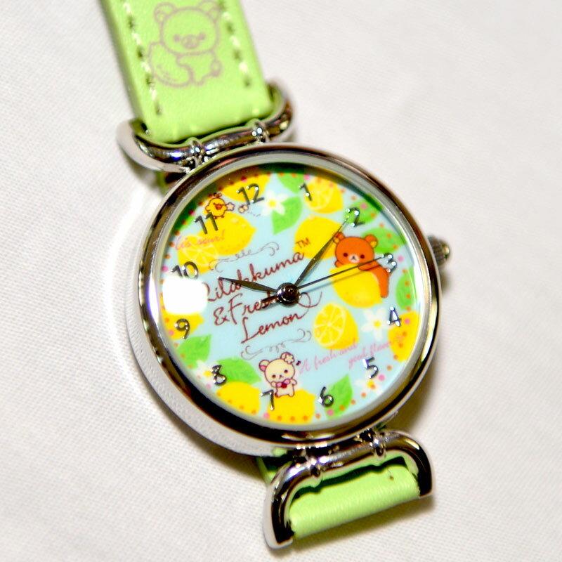 拉拉熊 指針式手錶 日本限定 正版品 Rilakkuma