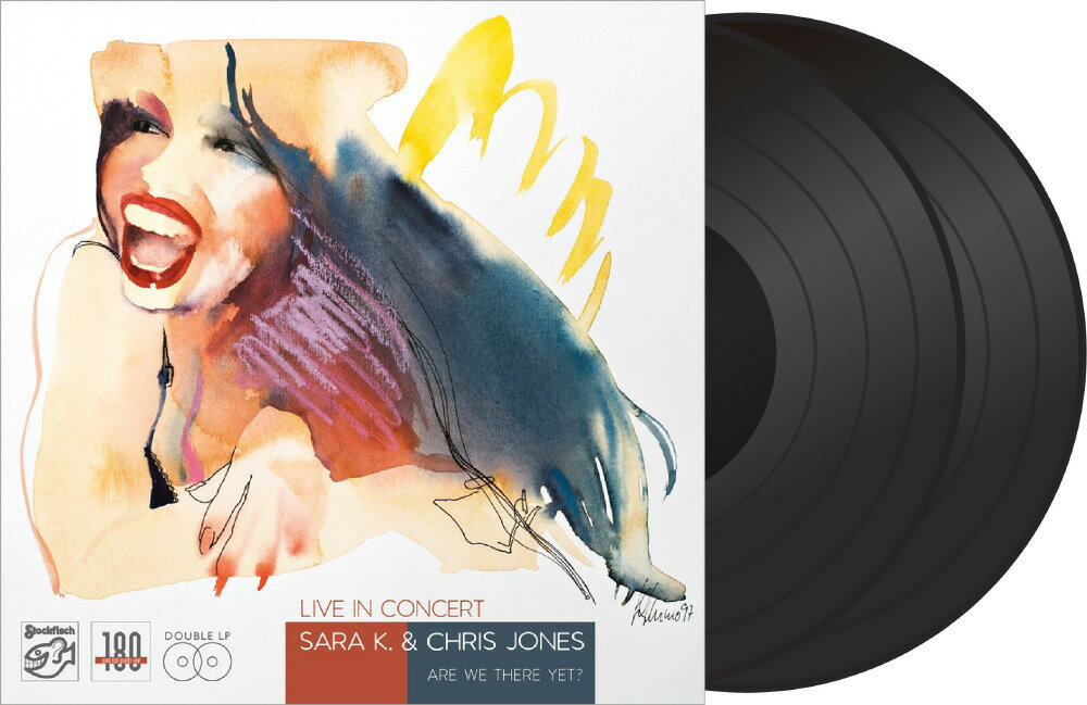 莎拉K.&克利斯瓊斯:演唱會現場實況 Sara K. & Chris Jones: Live In Concert (2Vinyl LP) 【Stockfisch】 1