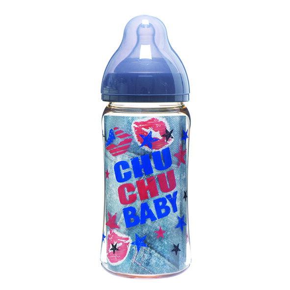 chu chu 啾啾 - 寬口徑PPSU奶瓶 240ml (酷勁男孩) 0