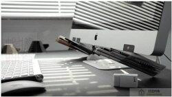 【DIY螢幕輔助文具筆筒】筆袋筆筒 學校文具 辬公室收納小物 創意桌面整理收納 桌面收納 桌邊收納 缺色隨機 銅板小物【狂麥市集】