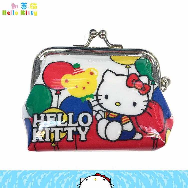 三麗鷗 Hello Kitty 凱蒂貓 多功能 零錢包 收納小包 小零錢包吊飾 錢包 日本進口正版 047812