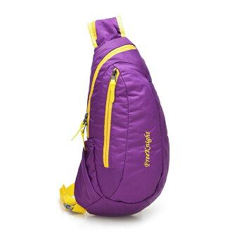 【FREE KNIGHT】亮彩單肩背包(紫) FK803PE
