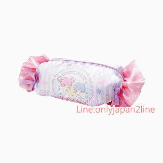 【真愛日本】4901610668603 造型糖果筆袋-TS+AAG 三麗鷗Kikilala 雙子星 文具 鉛筆盒 預購