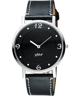 STAR時代錶 9T1407-431S-D藝術復興時尚腕錶/黑面39mm