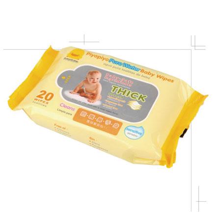 Piyo 黃色小鴨 嬰兒柔濕紙巾(20抽) 1入【悅兒園婦幼生活館】
