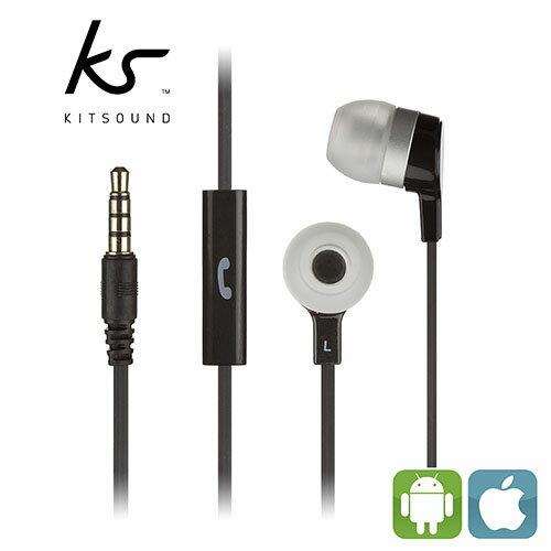 ~迪特軍3C~英國 KitSound Entry MINI 入耳式耳機~黑