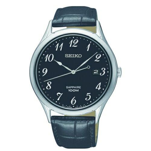 方采鐘錶:SEIKO精工典藏尊榮石英腕錶7N42-0FW0U