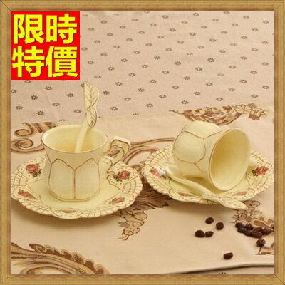 ☆下午茶茶具含茶壺咖啡杯組合-4人簡約歐式骨瓷茶具69g22【獨家進口】【米蘭精品】