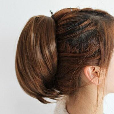 短假髮假馬尾-隱形抓夾式內彎短髮女假髮3色73rr53【獨家進口】【米蘭精品】 1