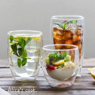 |現貨|日式耐熱雙層玻璃杯 職人工藝|雙層杯|人氣麻豆Mika 使用推薦款