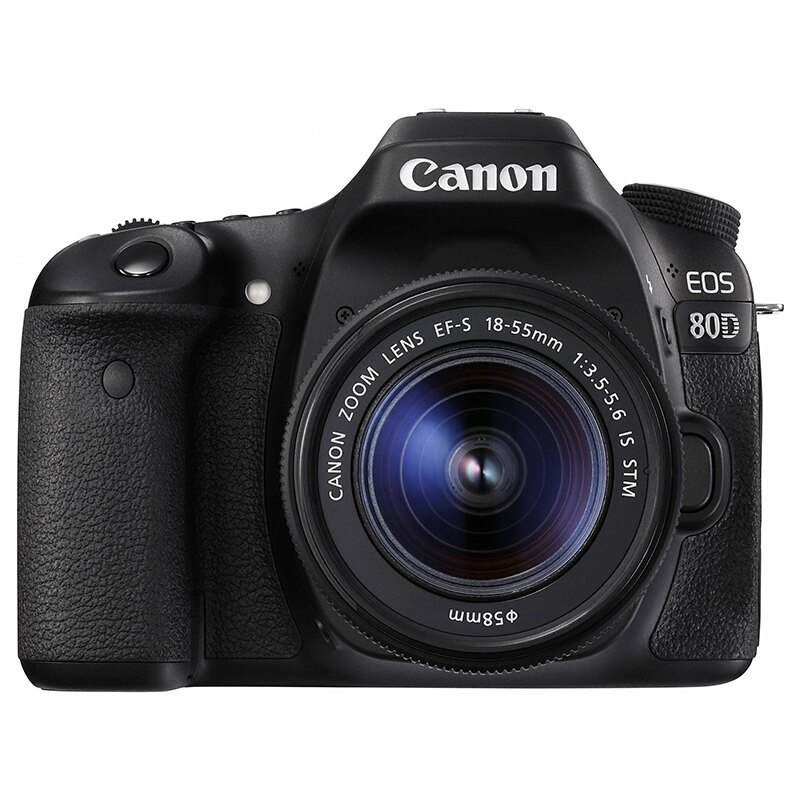 ◎相機專家◎ Canon EOS 80D KIT 含18-55mm IS STM 登錄送好禮 彩虹公司貨