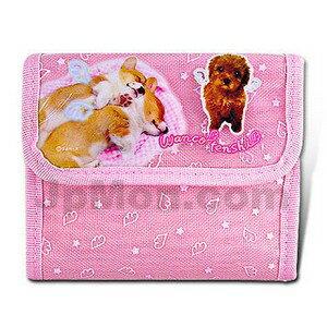 【san-x】愛犬物語摺疊錢包(附車票夾)