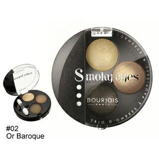 【妙巴黎】煙燻妝礦物眼癮派(02橄欖石)