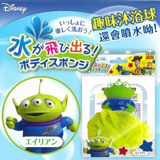 【CBIC】迪士尼造型噴水趣味沐浴球(大眼怪)