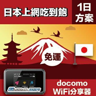 GLOBAL WiFi 亞洲行動上網分享器 日本 4G docomo 吃到飽
