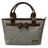 CORRE 【LI056】亞麻蝴蝶結手提包 附贈亞麻長夾 0