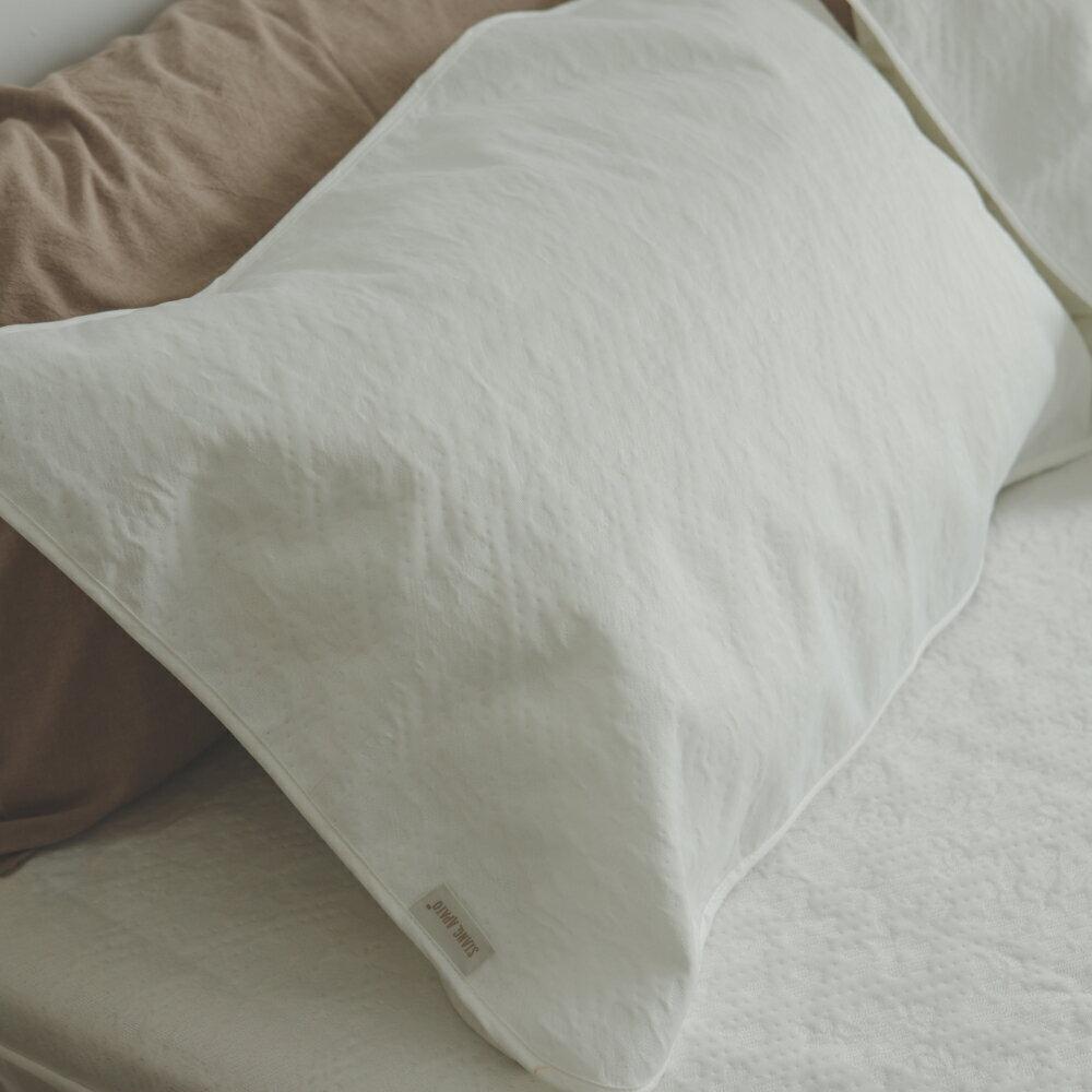 保潔墊 1 入【葉月 薄膜式防水保潔枕墊】長效防水 透氣抗菌 翔仔居家
